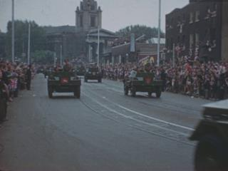 PEACE CELEBRATIONS 1945 [Main Title]