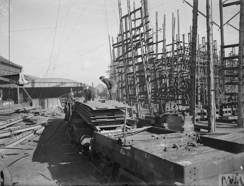 PRE-FABRICATION IN SHIPBUILDING  29, 30 AND 31 MARCH 1943