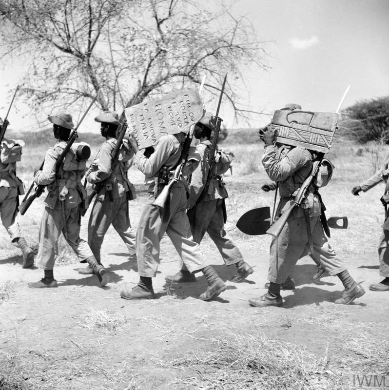 SOUTH AFRICAN FORCES IN EAST AFRICA, 1941