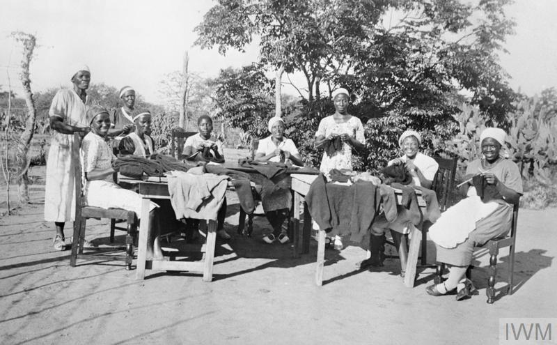 THE WAR EFFORT IN AFRICA DURING THE SECOND WORLD WAR