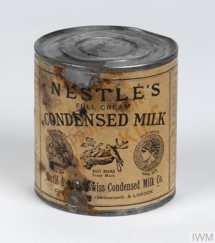 powdered milk, Nestle's Sunshine | Imperial War Museums