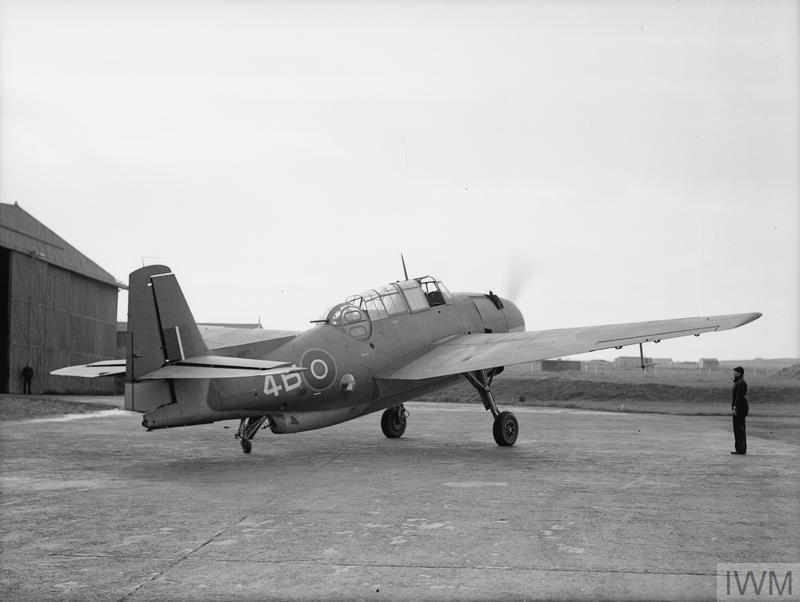 """NEW AMERICAN TORPEDO-BOMBER THE """"TARPON"""" IN SERVICE WITH THE FLEET AIR ARM. 21 TO 23 OCTOBER 1943, HMS SPARROWHAWK, ROYAL NAVAL AIR STATION HATSTON. THE GRUMMAN 'TARPON' (AMERICAN NAME AVENGER WAS USED FROM 1944) SUPPLIED UNDER THE LEND-LEASE AGREEMENT, SERVING WITH THE FLEET AIR ARM."""
