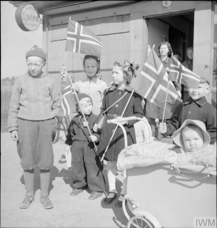 NORWAY AFTER LIBERATION, 1945