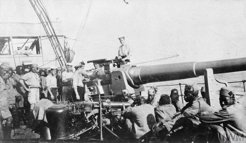 THE SERVICE OF QMS JOHN ALBERT RICHARDS IN EAST AFRICA, 1915-1919