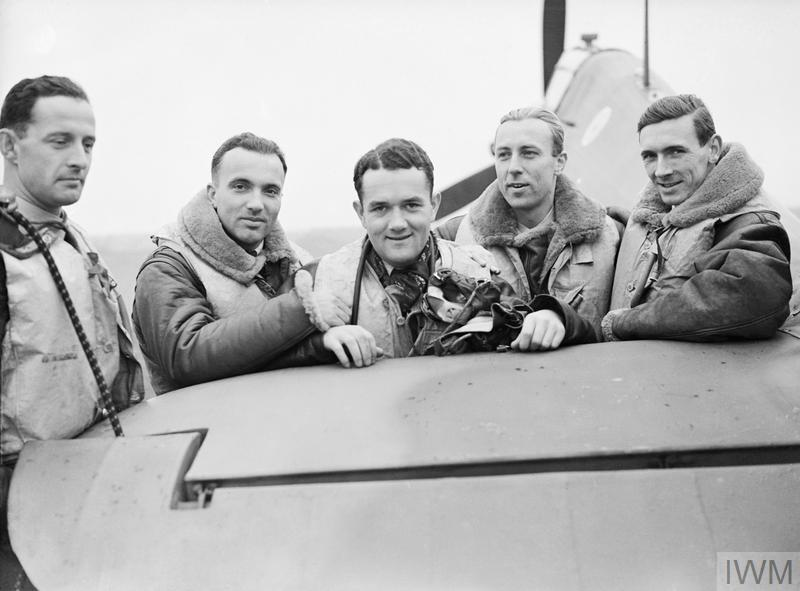 A Group of Pilots of No. 303 Fighter Squadron