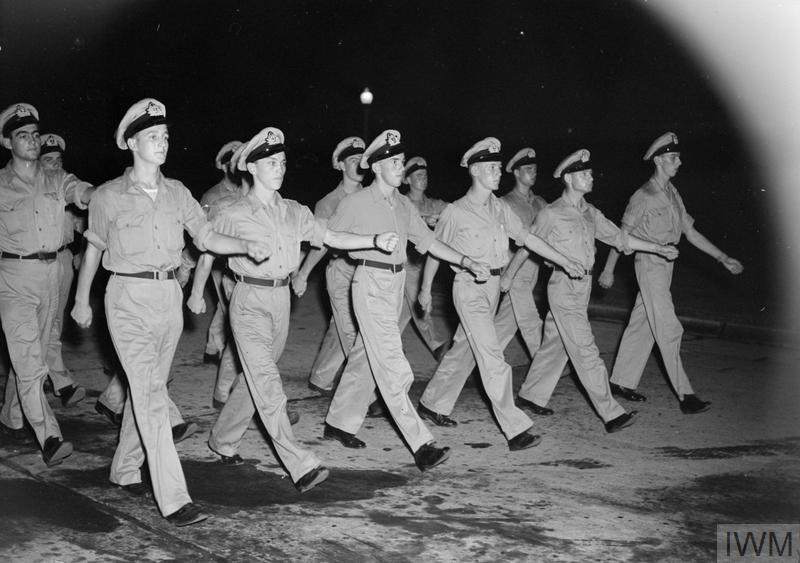 BRITISH NAVAL PILOTS TRAIN IN AMERICA FOR WAR AGAINST JAPAN