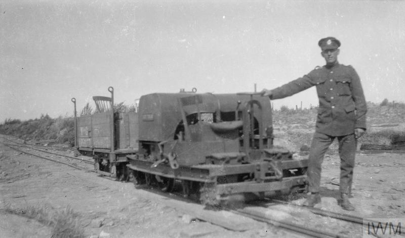 SERVICE OF SAPPER GEORGE MCGREGOR IN A ROYAL ENGINEERS LIGHT RAILWAY COMPANY IN FRANCE  DURING THE FIRST WORLD WAR
