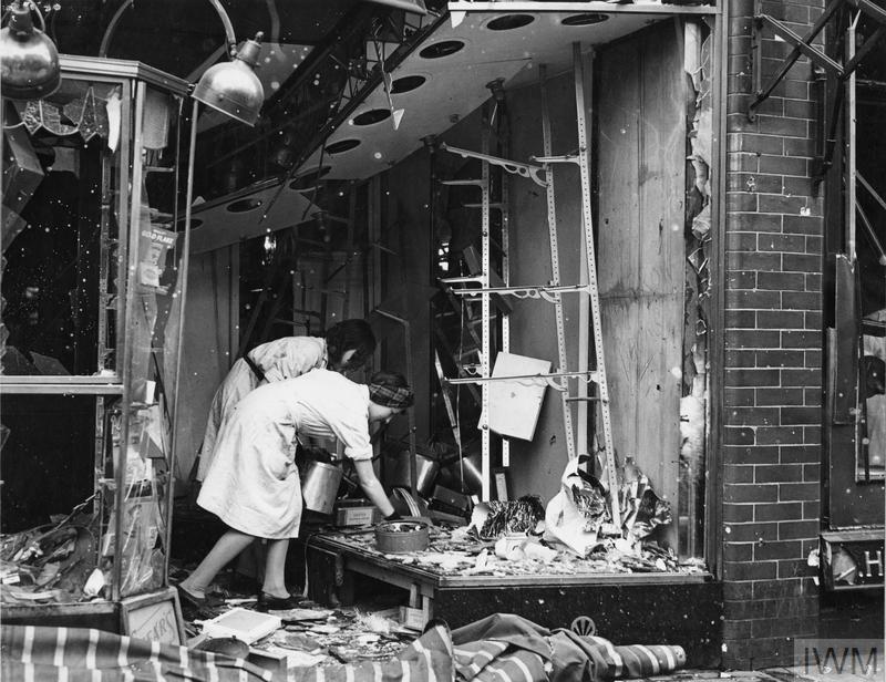THE LONDON BLITZ 1943