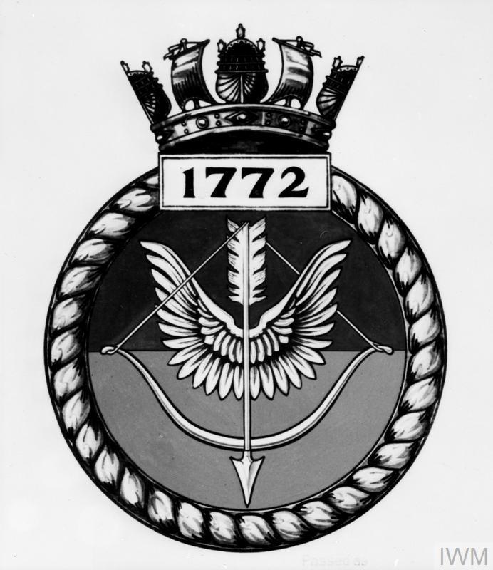 FLEET AIR ARM SQUADRON CRESTS  MARCH 1945  | Imperial War