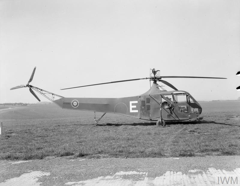 Image result for RAF Sikorsky hoverfly