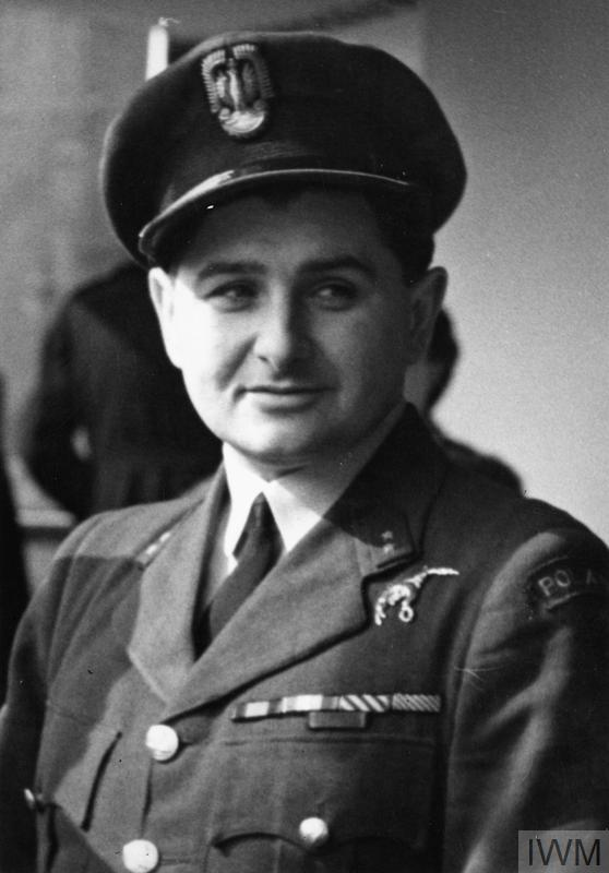 "Portrait of Flying Officer Antoni ""Tony"" Głowacki"