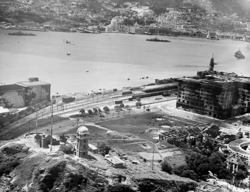 LIBERATION OF HONG KONG. 30 AUGUST 1945, AND AFTER. SCENES AFTER THE RE-OCCUPATION OF THE CROWN COLONY.