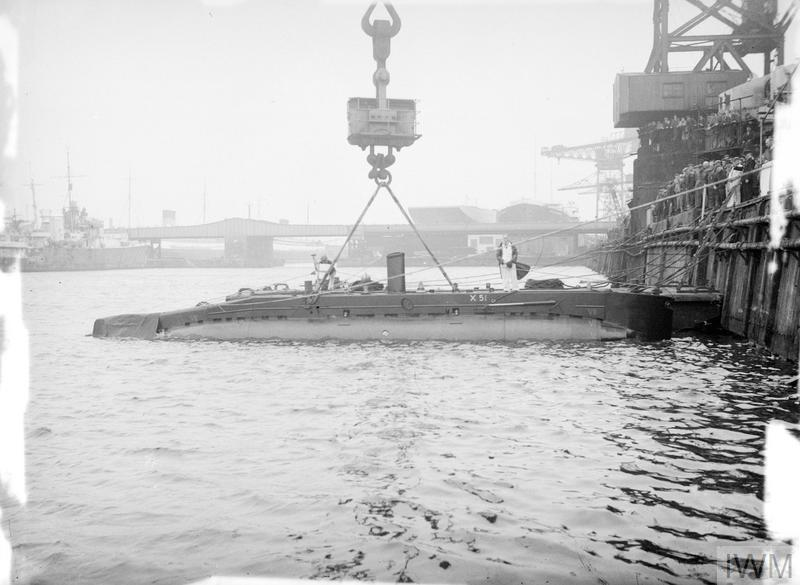NEW SMALL SUBMARINE FOR THE NAVY  1 OCTOBER 1954, MESSRS