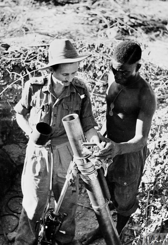 POLISH OFFICERS IN THE ROYAL WEST AFRICAN FRONTIER FORCE