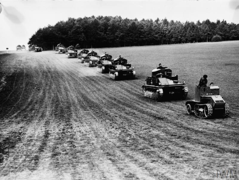 BRITISH ARMOURED FIGHTING VEHICLES 1918-1939