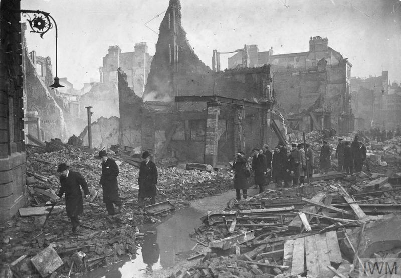 BOMB DAMAGE: 1941