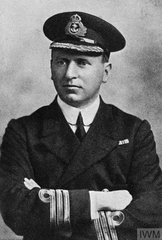 Commander Loftus William Jones, Royal Navy, awarded the Victoria Cross, HMS SHARK, Jutland, 31 May 1916.