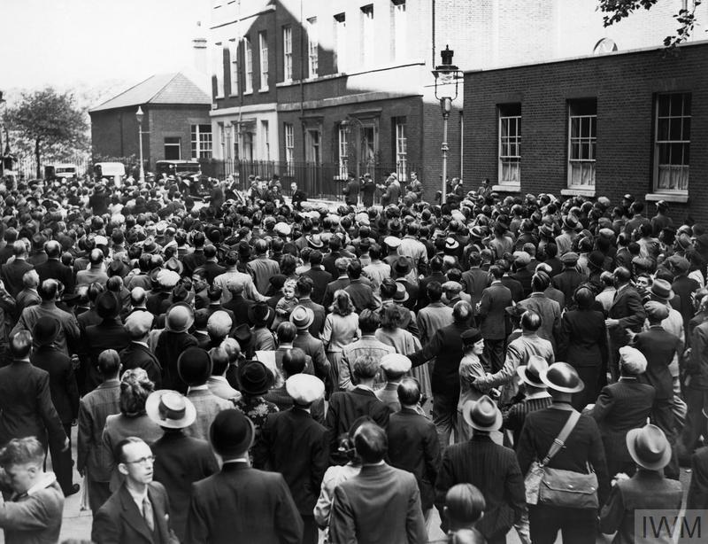 THE BRITISH DECLARATION OF WAR ON 3 SEPTEMBER 1939