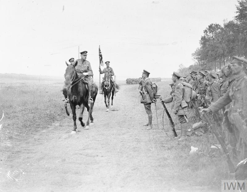 THE BATTLE OF AMIENS, AUGUST 1918