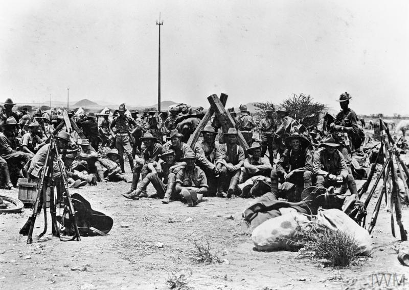 The Campaign In German South West Africa During The First