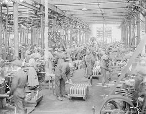 INDUSTRY DURING THE FIRST WORLD WAR: DUBLIN