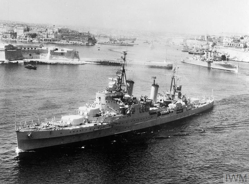 Mediterranean Fleet And Commonwealth Ships Set Off On