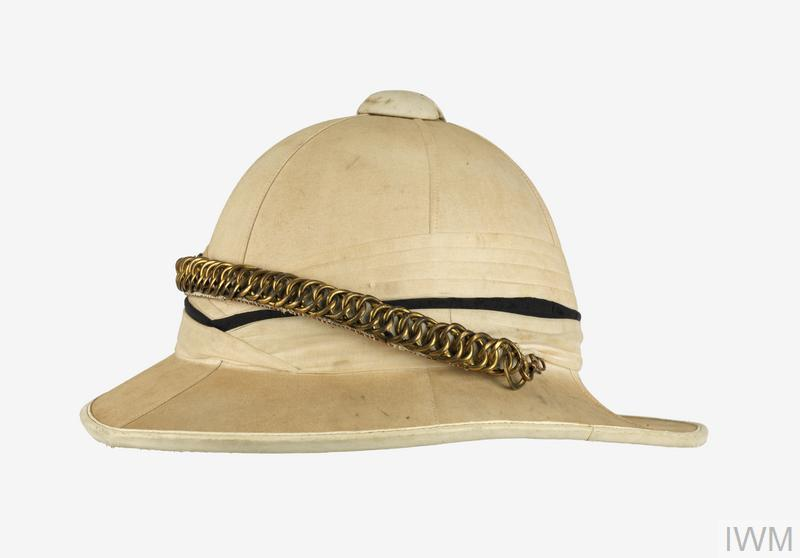 6eb059ceeeb30 Helmet, Wolseley pattern (Tropical), Full Dress: Officer's, York &  Lancaster Regiment