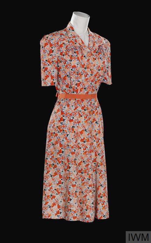 dress, commemorative, 'VE Day'