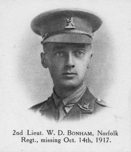 Second Lieutenant William Daniel Bonham