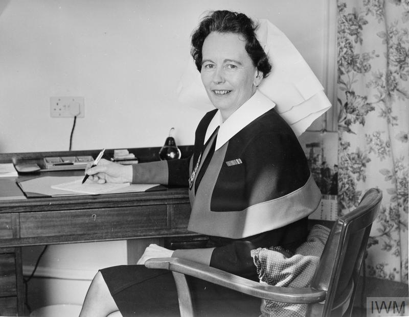APPOINTED MATRON IN CHIEF OF THE QUARRNS. MAY 1966, MISS MARY STELLA FETHERSTON-DILKE, RRC, OF MAXSTONE CASTLE, COLESHILL, WARWICKSHIRE, APPOINTED MATRON IN CHIEF OF THE QUEEN ALEXANDRA'S ROYAL NAVAL NURSING SERVICE.