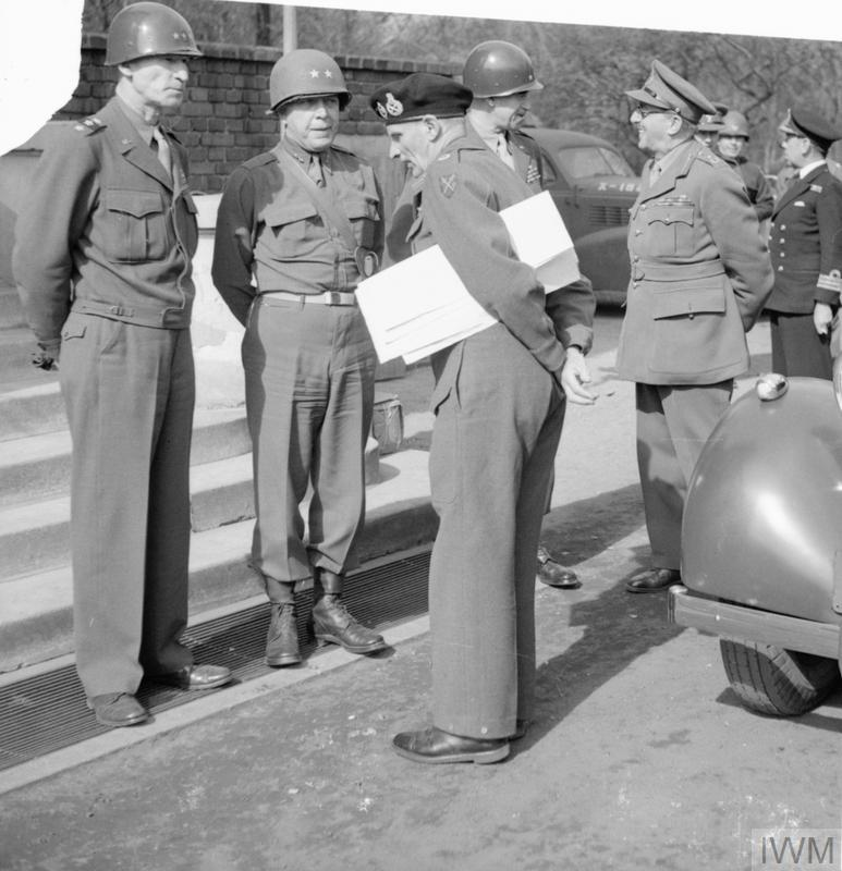 THE BRITISH ARMY IN NORTH-WEST EUROPE 1944-45: THE PRIME MINISTER IN GERMANY