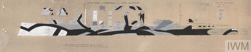 HMS Order Nos. 29/30 - HMS Duke of Edinburgh and HMS Cochrane [Port]