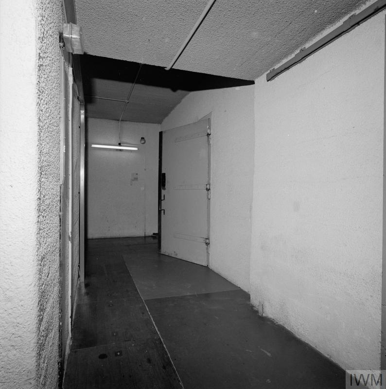 END OF THE COLD WAR:  THE UNDERGROUND NUCLEAR BUNKER AT KELVEDON HATCH, ESSEX ON DECOMMISSIONING, 1992