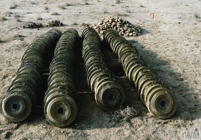 AFTERMATH OF THE GULF WAR:  THE BRITISH ROYAL ORDNANCE CONTRACT BOMB DISPOSAL TEAMS DURING CLEARUP OPERATIONS IN KUWAIT FOLLOWING THE GULF WAR, 1991-1992