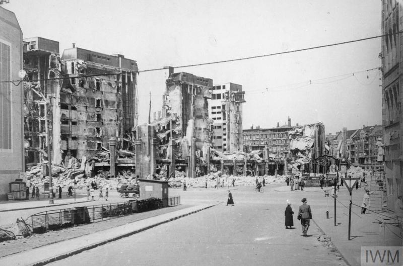 scenes in berlin  1945