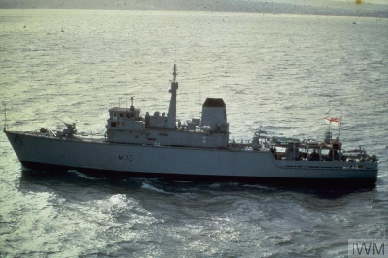 THE ROYAL NAVY IN THE 1980S