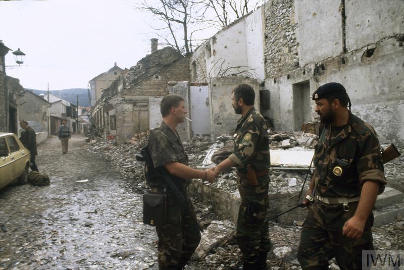 THE BOSNIAN CIVIL WAR 1992 - 1995