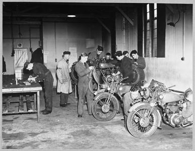 TRAINING R.A.F. MOTOR CYCLISTS