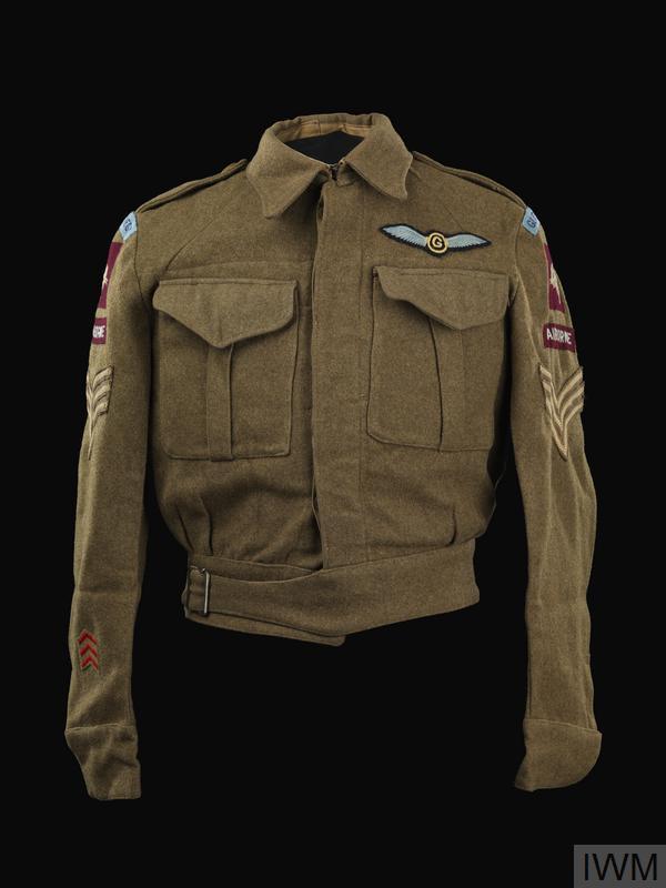 Blouse, Battledress, 1940 pattern: Staff Sergeant, Glider Pilot