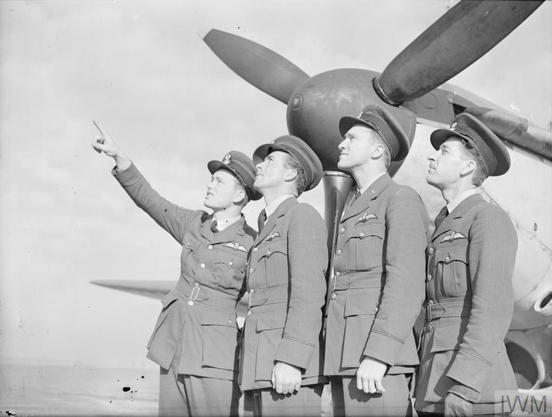 AMERICAN PILOTS OF NO 71 SQUADRON RAF (THE EAGLE SQUADRON
