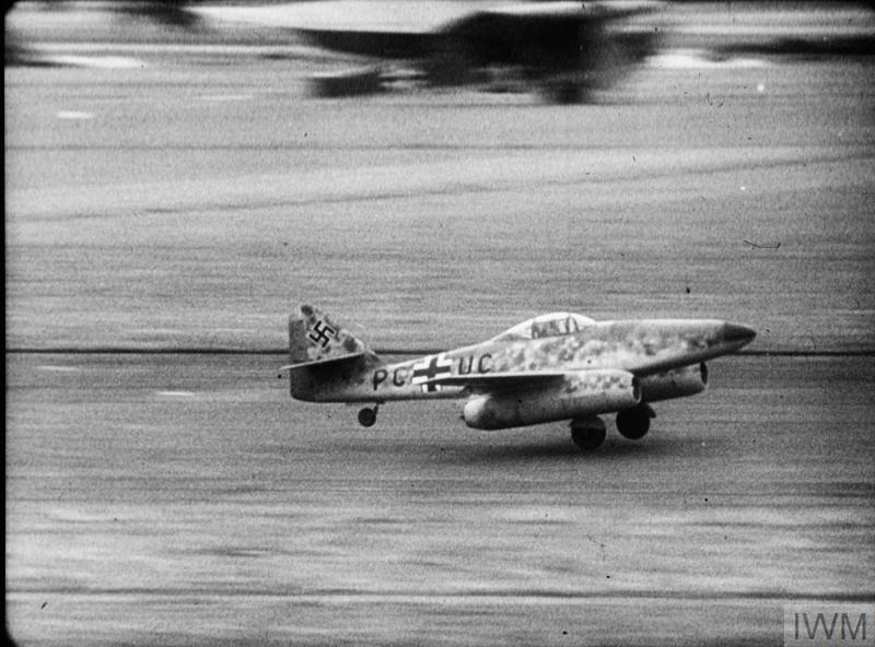 Messerschmitt Me 262 V3 taking off