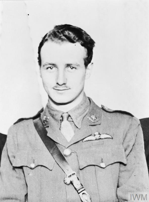 Portrait of Lieutenant William Leefe Robinson RFC who was awarded the Victoria Cross for the destruction of the SL11 airship. This was the only VC awarded for action in Britain.