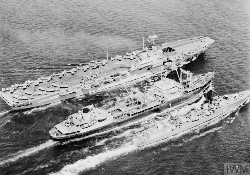HMS OCEAN IN KOREA 1952