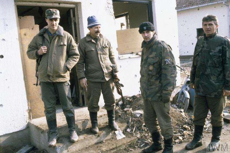 THE BOSNIAN CIVIL WAR 1992