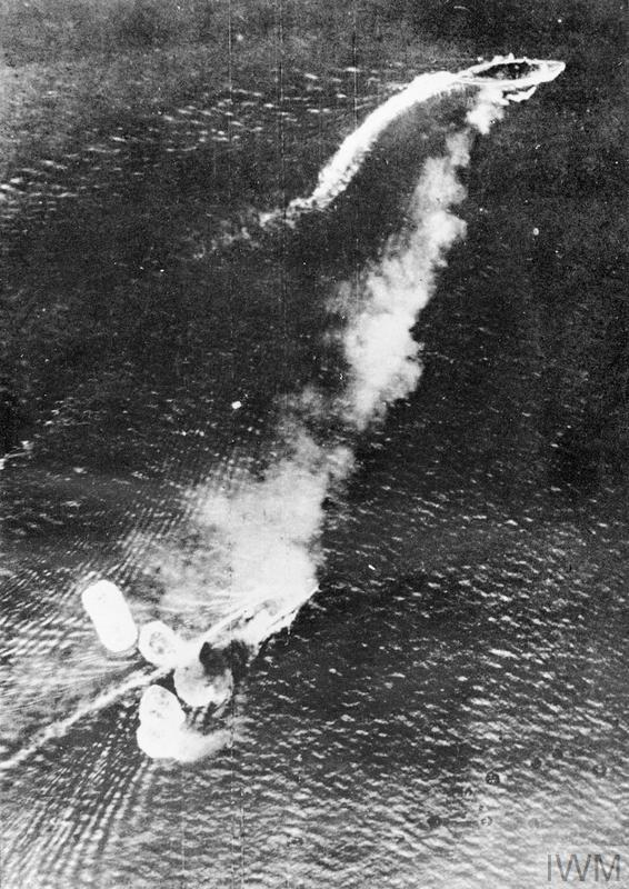 THE SINKING OF HMS REPULSE AND HMS PRINCE OF WALES, DECEMBER 1941
