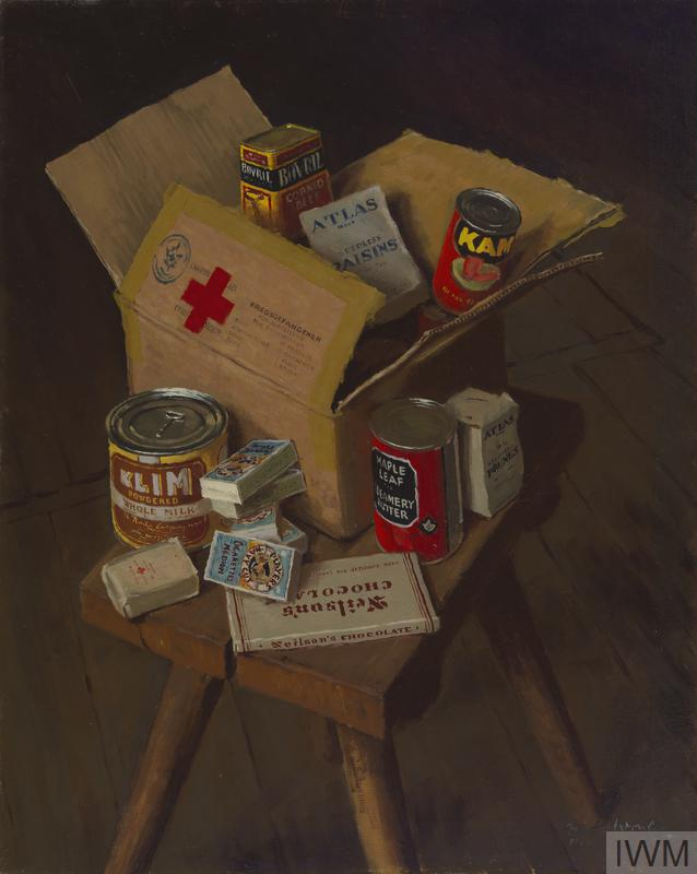 The Contents Of A Red Cross Parcel 1944 Imperial War Museums