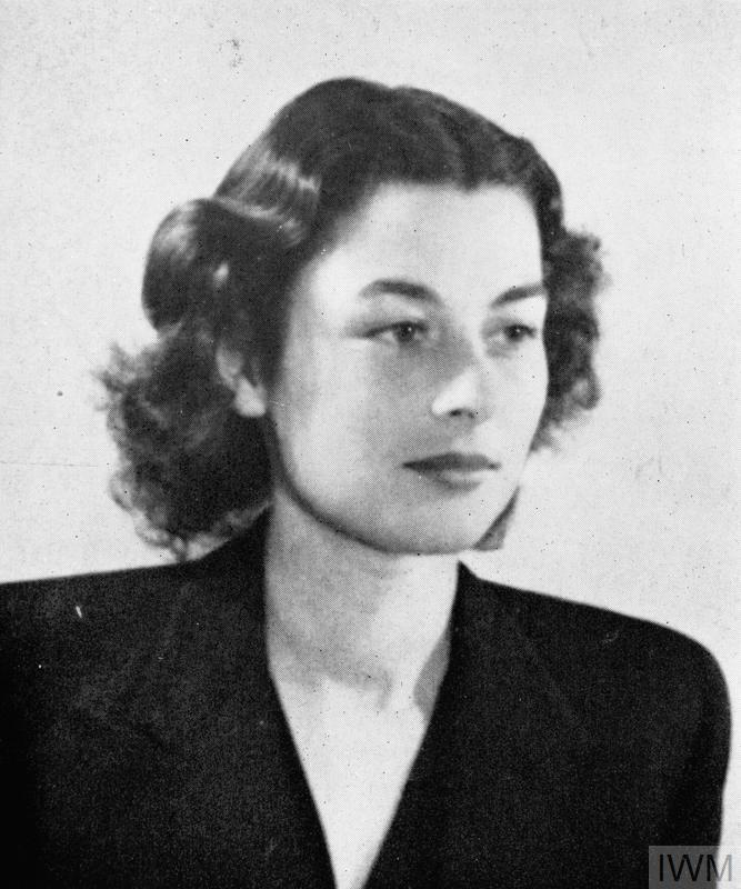 Ensign Violette Reine Szabo, George Cross, Croix de Guerre avec Palme, WTS/FANY, SOE. Violette Szabo served as a courier with F Section, SOE.