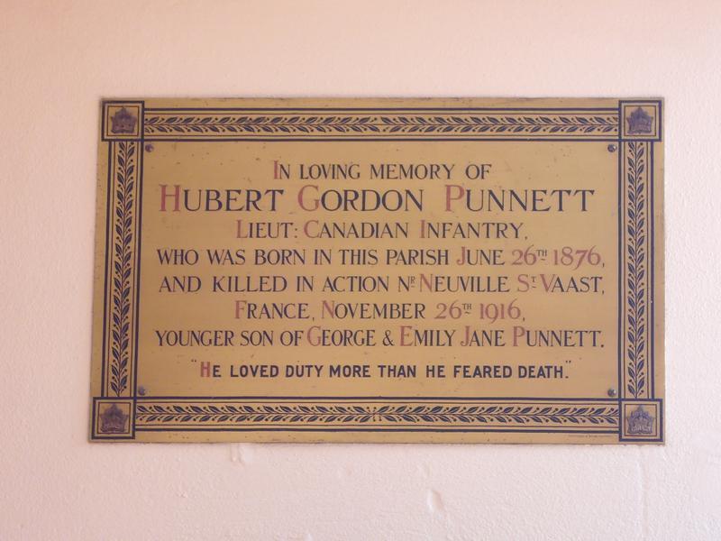 Lieutenant H G Punnett