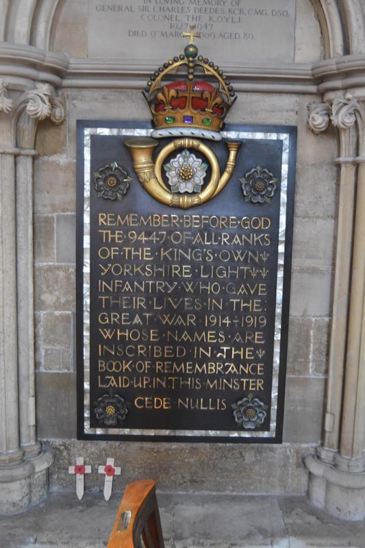 Kings Own Yorkshire Light Infantry WW1