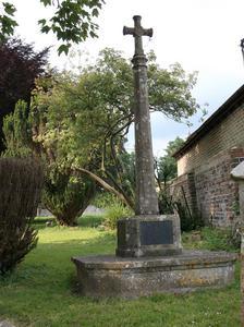 Upper Beeding- WW1 Cross